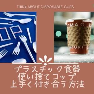 プラスチック食器・使い捨てコップと上手に付きあう方法