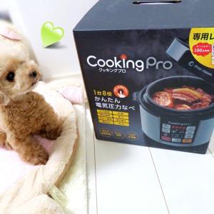 電気圧力鍋 cooking pro