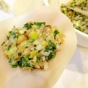 おうちごはん♡お野菜たっぷり~ヘルシー餃子♪