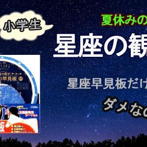 【育児】星座早見板の使い方が分からない!?夏の夜の星座観測に必要なもの
