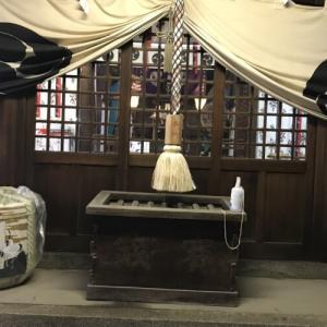 厄除大祭には行けなかったけど、御崎八幡神社で厄除祈願。