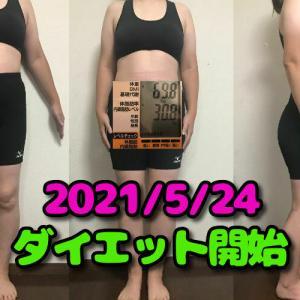 70kgからダイエットに取り組む!全身写真を見て反省!