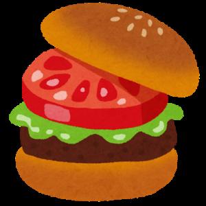 Mハンバーガーショップにて