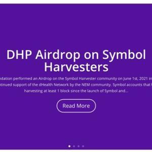 【DHP】初ハーベストが来ました【dHealth Network】
