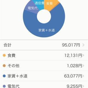 2020年8月家計簿公開【一人暮らし30代女】