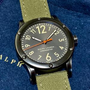 ラルフローレンの腕時計 サファリRL67クロノメーターを購入