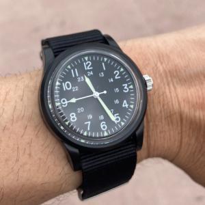 また同じような時計を… ダイソー ミリウォッチ