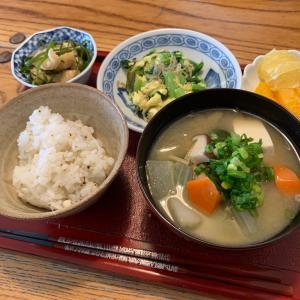 汁物シリーズ第15弾 豆腐と野菜たっぷり味噌汁