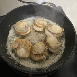 ホタテのバター焼き