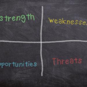 SWOT分析のやり方!事業課題から戦略目標を立てる!