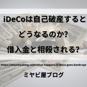 iDeCoは自己破産するとどうなるのか?借入金と相殺される?