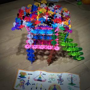 【育脳】小4娘の知育玩具「ジスタ―」作品