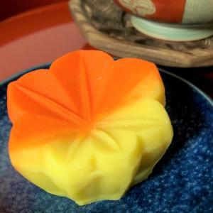 和菓子で秋の紅葉を楽しむ 御菓子処 さゝま