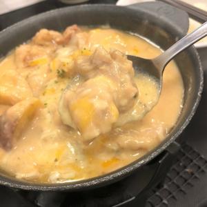 松屋で「シュクメルリ」を食べました。凄いニンニクだー!