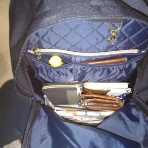 【リュックの不満解消】リュックインバッグを買ったので紹介します【モンルル リュックインバッグ】