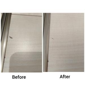 中古住宅改良日記⑩床の傷をどうにかした話2【ハウスボックス NEWカラーパテ】