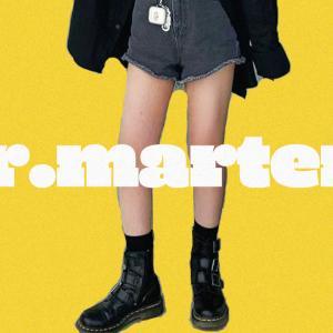今年のロングブーツはDr.martens!!韓国女子のクールな着こなしをチェック!!