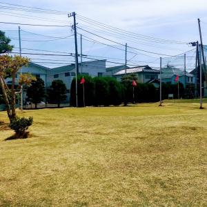 都内近郊で芝からアプローチ練習 イトーゴルフガーデン