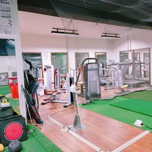 秘密基地でショートゲーム練習とストレッチ 東京都大田区池上 トータルゴルフコンディション(TGC)
