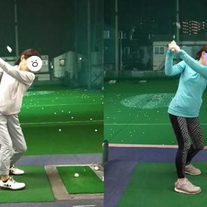 【ゴルフ練習記録】UUUMゴルフを見て練習。右に乗り切れているのか?!