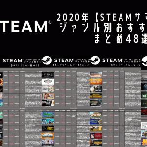 【STEAM】サマーセール中のジャンル別おすすめゲームまとめ48選!