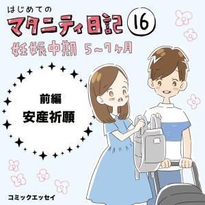 【マタ日記16】安産祈願 前編