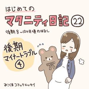 【マタ日記22】後期マイナートラブル4