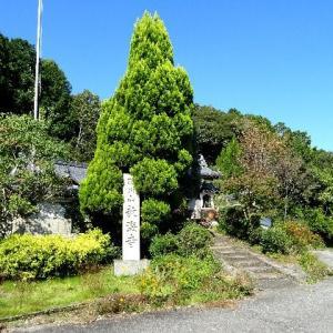 教海寺の弘法大師にまつわる脇川の念仏水 2020.10.21
