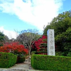 加古川にある常楽寺の紅葉 2020.11.23