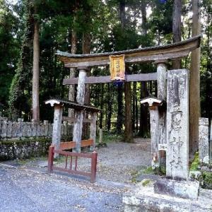 神聖な雰囲気の森がある立岩神社 2021.09.24