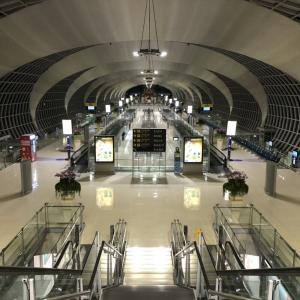 昨夜のスワンナプーム空港