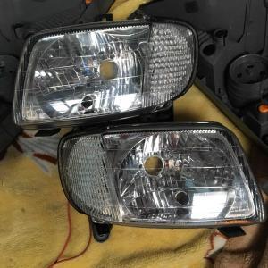 L700ミラヘッドライト加工