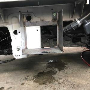 DA16 キャリートラック サブバッテリー取り付け