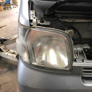 ハイゼット車検 ヘッドライト光量