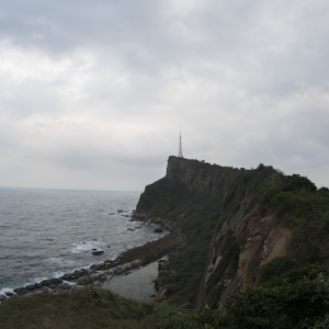 野柳地質公園への道のり① 台湾縦断旅行_2019.11.3 No.4<台北編>