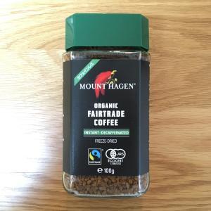 カフェインレスとは思えな美味しさ。マウントハーゲンオーガニックフェアトレードカフェインレス