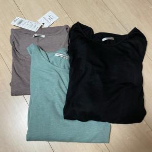今日はTシャツの日:前回の楽天マラソンで購入したものがお気に入り!