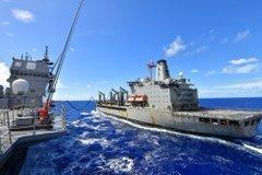 〇韓国さん 海軍が旭日旗掲揚の自衛艦と訓練して大激怒!