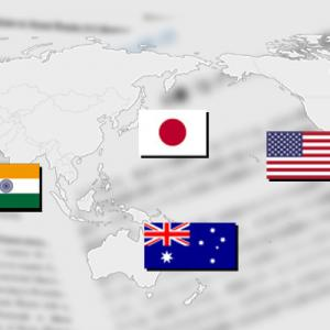 日本.米国.インド.豪 四ヶ国同盟具体的に動き出す また印中国境も兵力増加が見られる