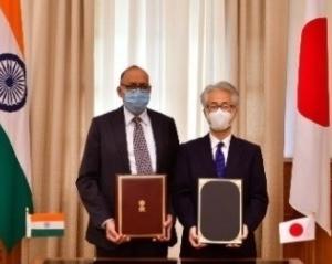 日本インド物品役務相互提供協定締結 また日米豪印外相会談で中共さん顔真っ青