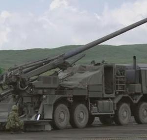 19式装輪自走155mmりゅう弾砲について