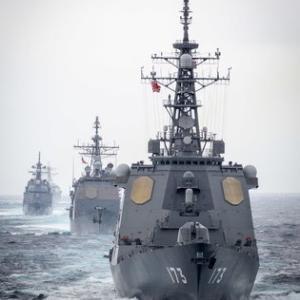 対潜水艦戦訓練シードラゴン や米空母共同訓練など艦船特集