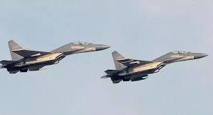 台湾方面に過去最大規模 20機もの中共大編隊