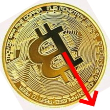 ビットコイン狂奏曲 大幅下落に12億ドル分