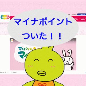 マイナポイントがついた!Suicaのキャンペーンで1000円追加ポイントも!