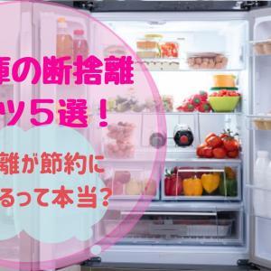 冷蔵庫の断捨離のコツ5選!断捨離が節約につながるって本当?