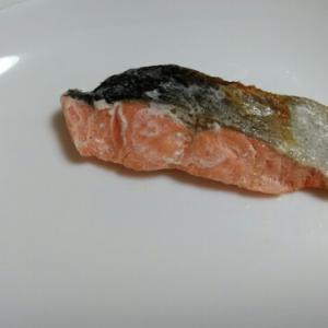 電子レンジで『鮭の塩焼き』