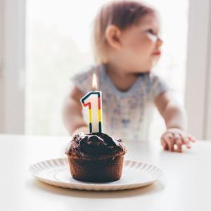 ケーキは注文しなくても大丈夫!簡単にできる手作りかわいい卵なし1歳誕生日ケーキ