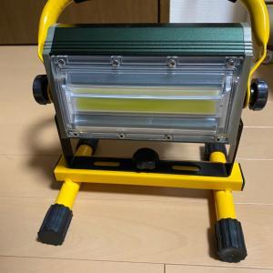LED投光器自作