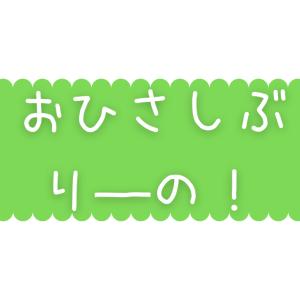 【可憐】おひさしぶり―の!